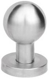 Lever Mortice Knob Steel